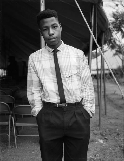 A Boy at a Tent Revival Meeting, 1990