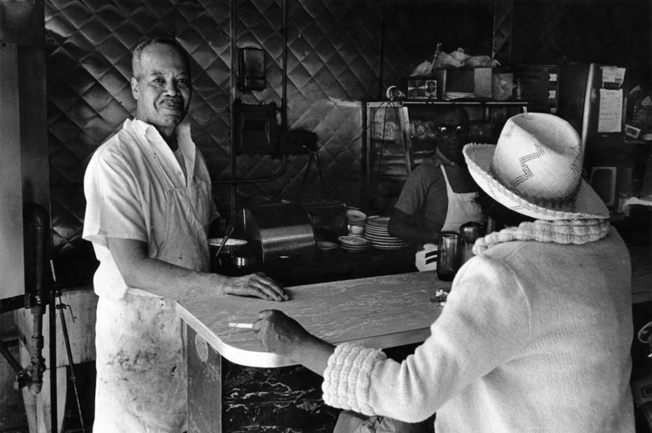Mr. Moore's Bar-B-Que, 125th Street, 1976