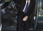 Erick in His Volvo, 2005