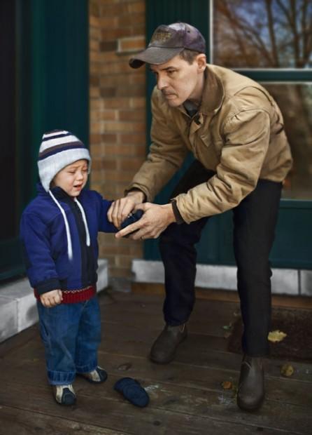 Levi and Brad, 2008