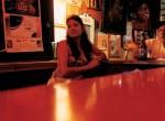 Barmaid at Los Tres Dias, 1993