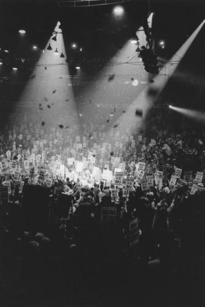 1960s Presidential Campaign, Chicago Stadium, 1960