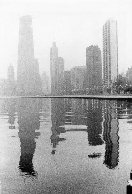 North Ave. at the Lake, 1968