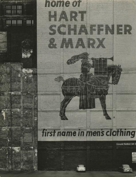 Aaron Siskind<br>Chicago, c.1950s