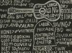 Thumbnail image: Aaron Siskind<br>Greetings! Xmas 1952, 1952