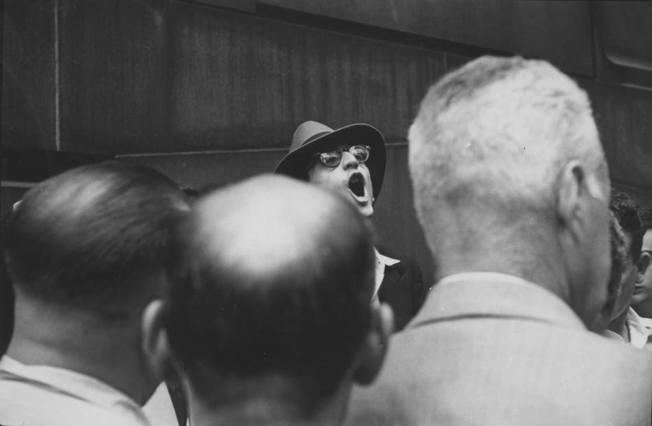 Wall Street, NYC, 1955