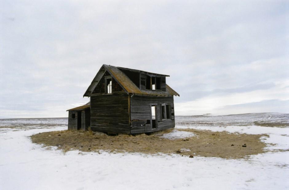 Eugene Richards  North of Keene, North Dakota, December, 2006