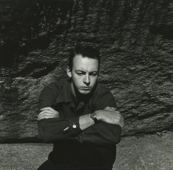 Francine du Plessix<br>Jonathan Williams, Middle Creek Falls, Scaly Mtn., North Carolina, 1951