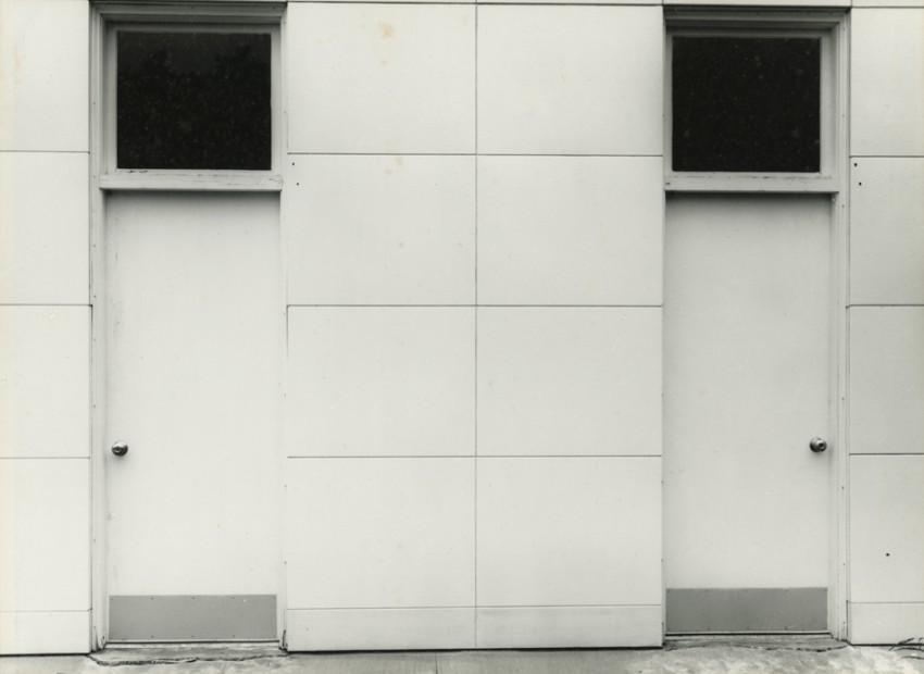 Lyle Bonge<br>Unfinished Amoco Station, Raleigh, North Carolina, 1964