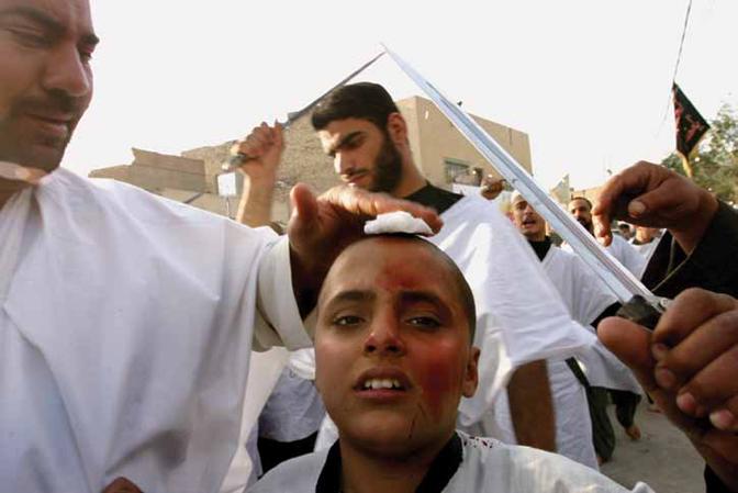 Samantha AppletonAshura Parade Procession, Karbala, Iraq, c.2000