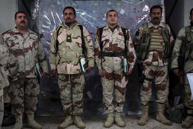 Samantha AppletonIraqi Army Soldiers Receive Commendation, Tal Afar, Iraq, c.2000
