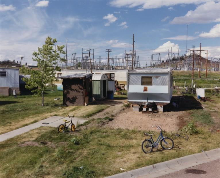 David T. Hanson  Burtco RV Court and power switching yard, Colstrip, Montana, 1985