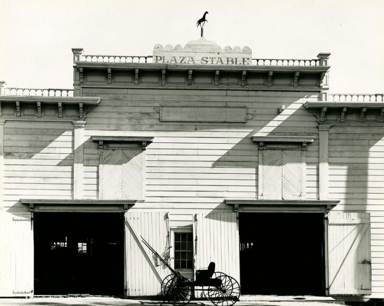 San Juan Bantista, Calif, 1958