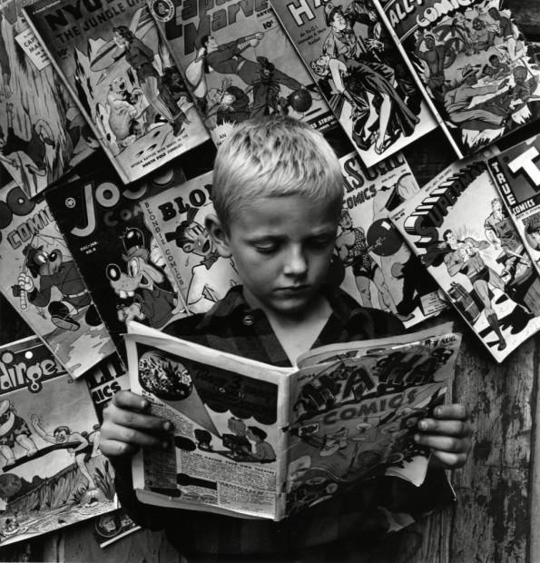 Comics, NYC, 1946