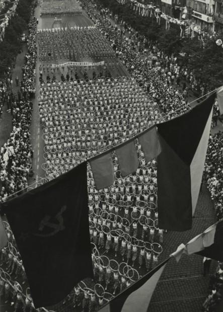 Spartakiada, Praha, 1940s