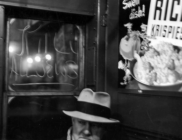 """""""A"""" train, N.Y.C, 1940's"""