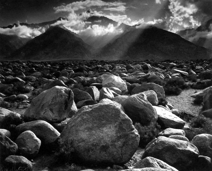 Mount Williamson from Manzanar, Sierra Nevada, California, c.1944