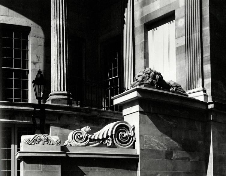 Detail, Merchant's Exchange, Philadelphia, 1966
