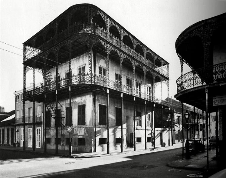 Le Prete House, New Orleans, 1953