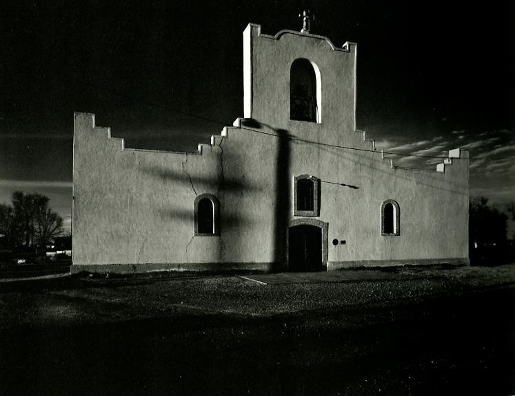 Socorro Mission, near El Paso, 1978