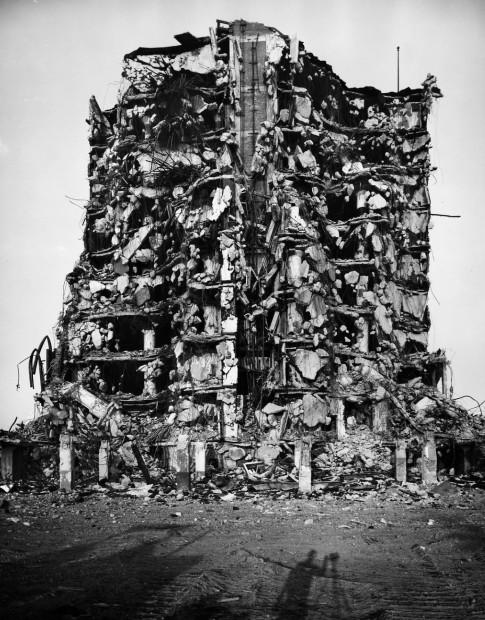 Warehouse Demolition, Philadelphia, 1966