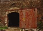 Door of Cotton Warehouse, Selma, Alabama, 1979