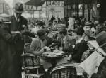 Le café du Dôme, 1925