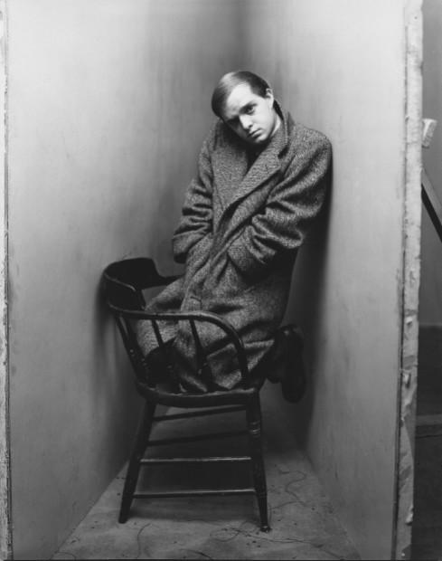 Irving Penn<br>Truman Capote, 1948