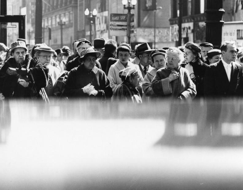 Charles Swedlund<br>Downtown, c.1955