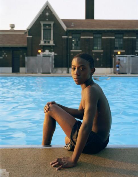 Boy by Pool, 2004