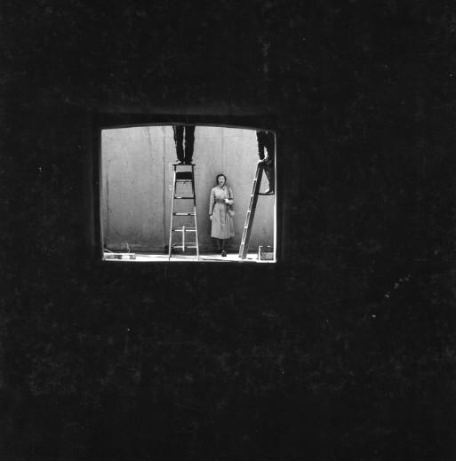 Leon Lewandowski<br>Picture of Cora Ward, c. 1950