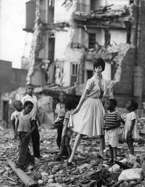 George Kufrin<br>Wilhelmina, Wells Street, Chicago, 1960