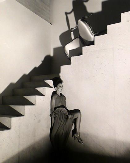 Victor Skrebneski<br>Ultimo (Christina on Stairs), Chicago, 1978