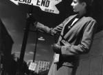 Thumbnail image: André Kertész<br>Woman Holding Sign, 1940s