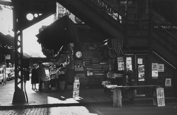 Marvin Newman<br>Under Third Avenue El, 1952