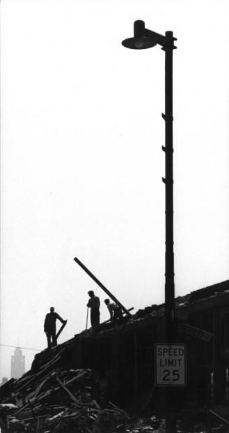 Marvin Newman<br>Aberdeen Street,  c.1954