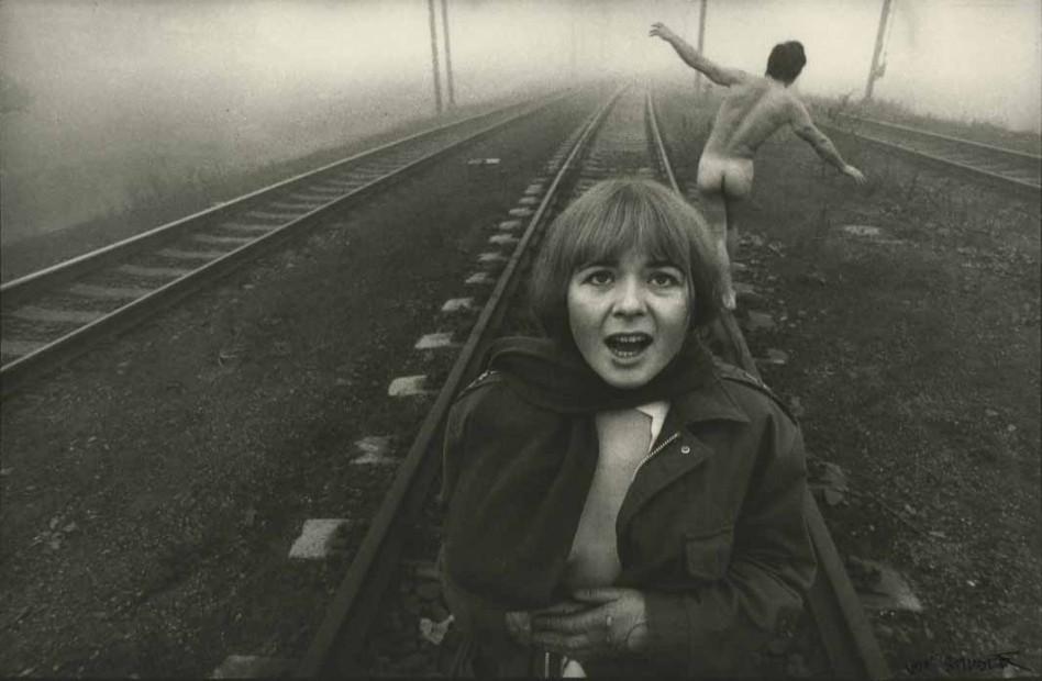 Railroad Tracks -Lovers, 1969