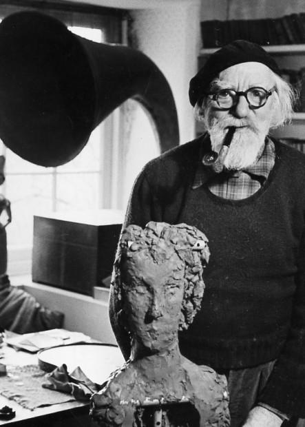 Brian Seed<br>Augustus John, 1954