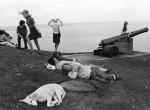 Thumbnail image: David Hurn<br>Tenby, Wales, 1974