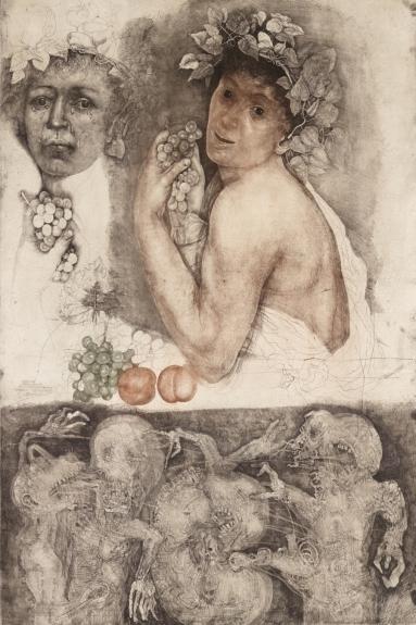 Bacchino Malato (after Caravaggio), 1984