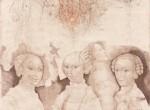 The Three Duchesses, (After Cranach), 1984