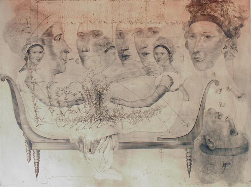 Madame Recamier (After Jacques Louis David), 1979