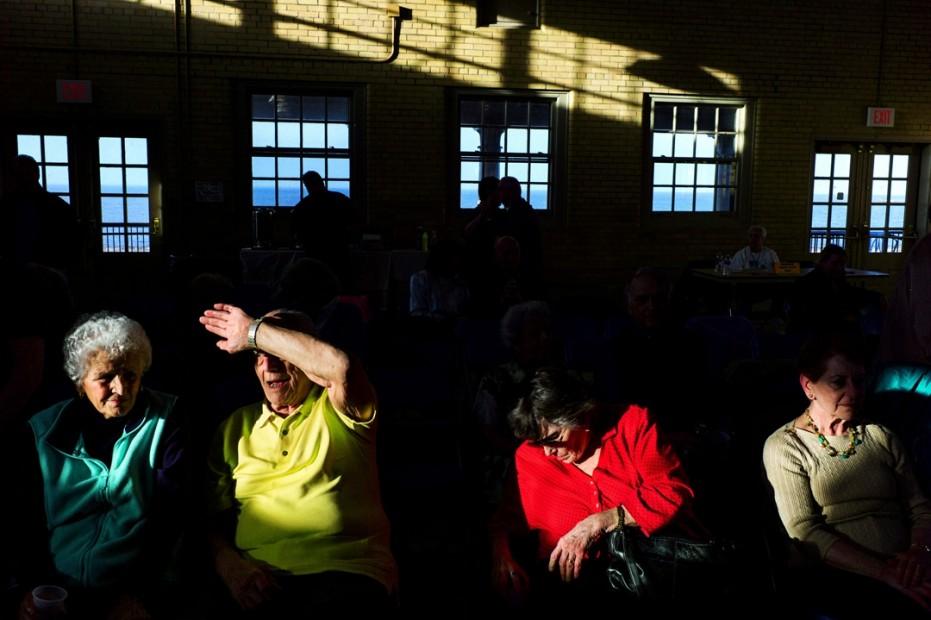 Alex Webb, Dance Hall, Lake Ontario, 2013