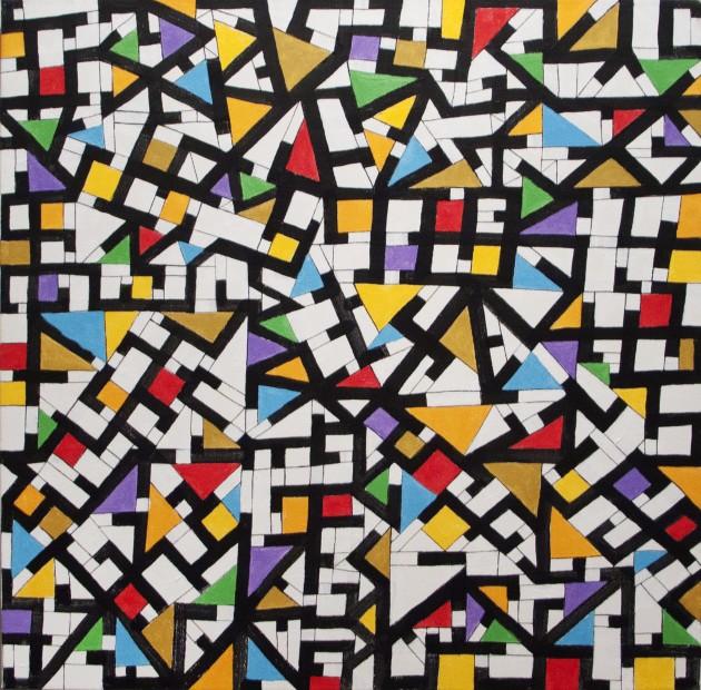 Noel Yauch, Crazy Quilt, 2008-2011