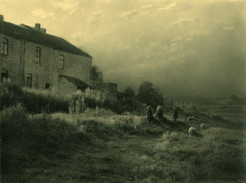 Leonard Misonne <br> Country Scene, 1936