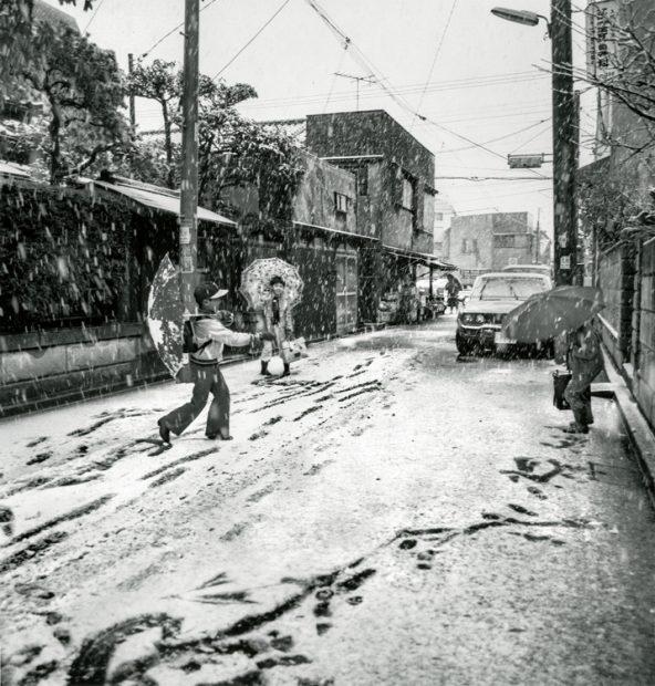 Ken Bloom<br>Ogijubo, Tokyo, January 1976