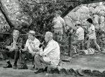 Thumbnail image: Ken Bloom<br>Contrasting Generations, Hachimangu Shrine, September 1977