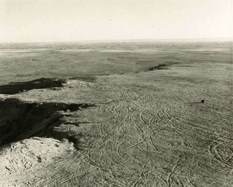 Robert Adams<br>Quarried Mesa Top, Pueblo County, Colorado, 1978