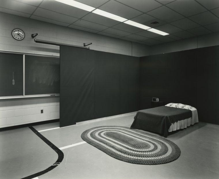 Lynne Cohen<br>Police School, c. 1980s