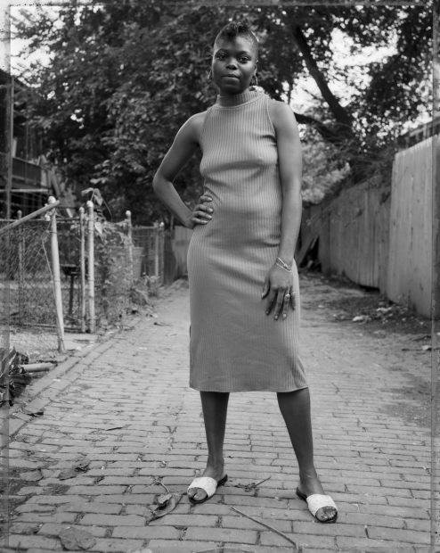 A Young Woman Between Carrollsburg and Half Street, 1989